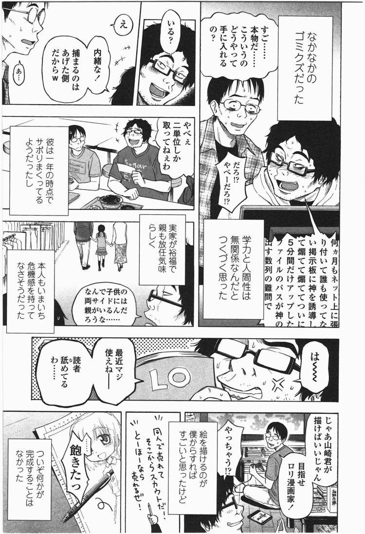 【エロ漫画】ろりともだちのオタク二人組みが美少女JSを次々誘拐して車内で残虐ロリコンレイプ!00003