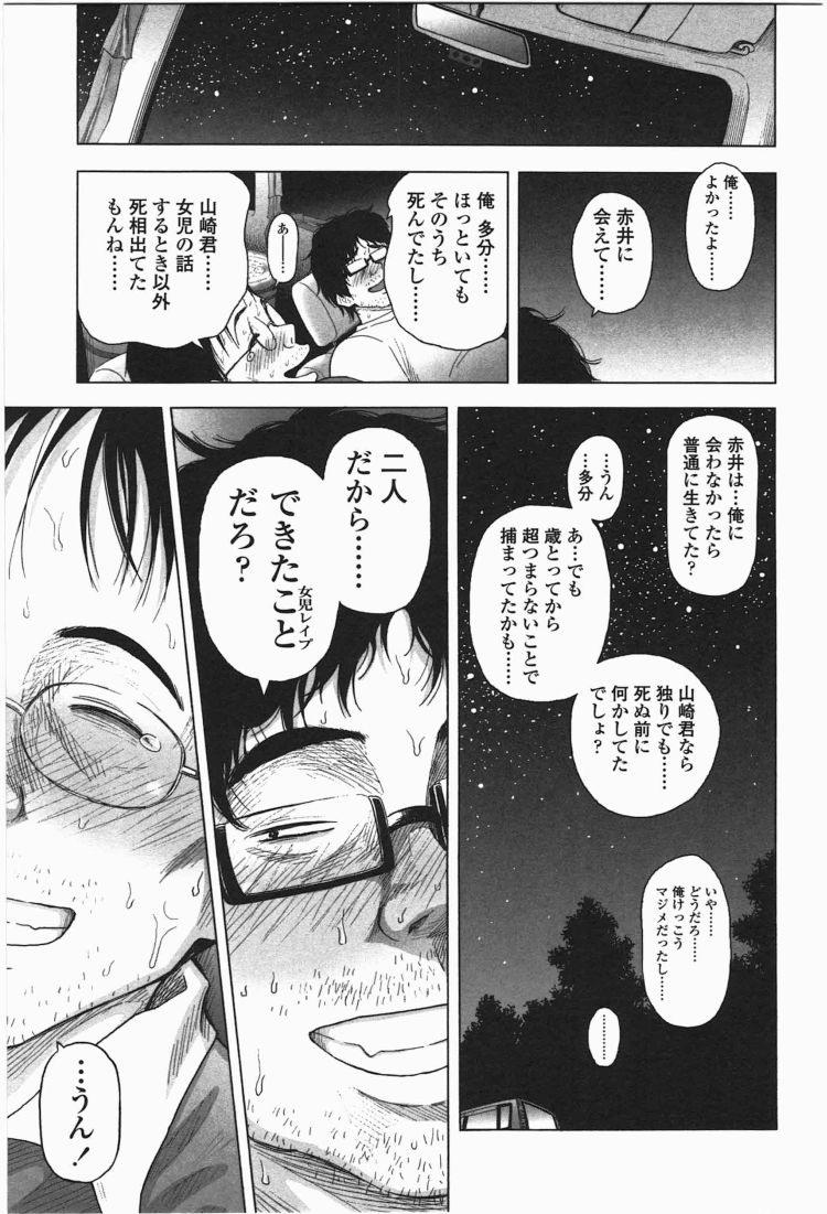 【エロ漫画】ろりともだちのオタク二人組みが美少女JSを次々誘拐して車内で残虐ロリコンレイプ!00037